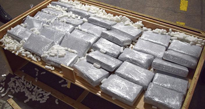 Un cargamento de drogas (imagen referencial)