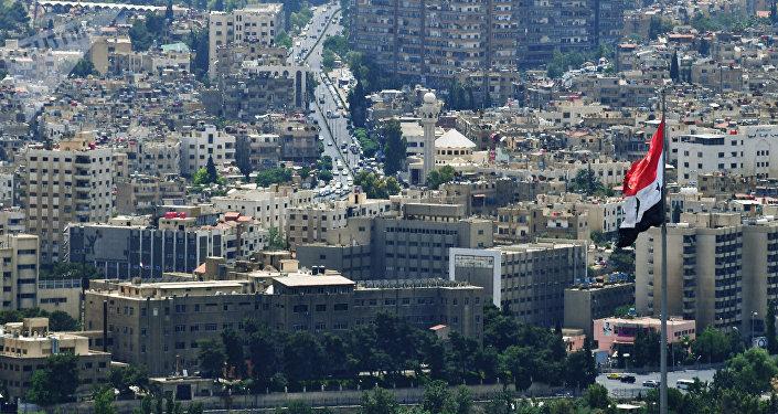 La ciudad de Damasco, Siria