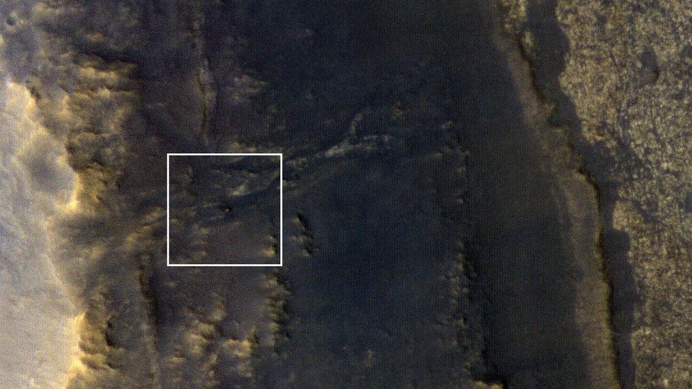 La nave espacial multipropósito Mars Reconnaissance Orbiter logró tomar una foto del vehículo marciano Opportunity