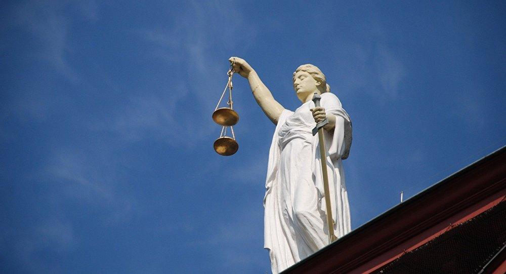 Estatua de Justicia (imagen referencial)