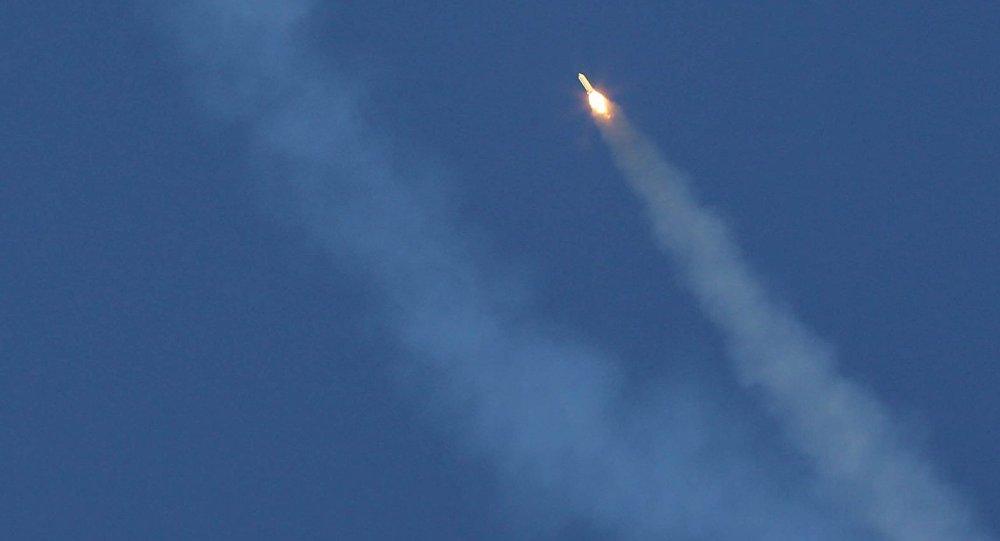 Un misil balístico iraní, foto de archivo