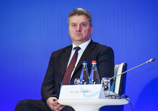 Gjorge Ivanov, presidente de Macedonia