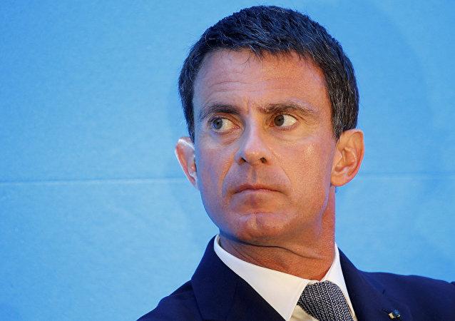 Manuel Valls,  ex primer ministro francés y concejal en la alcaldía de Barcelona (archivo)
