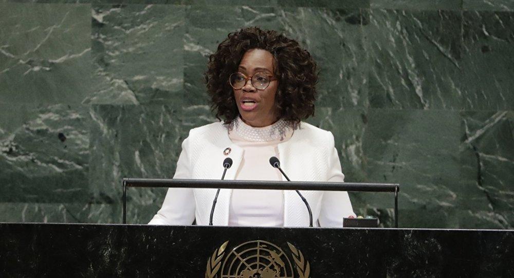 La vicepresidenta y canciller de Costa Rica, Epsy Campbell Barr