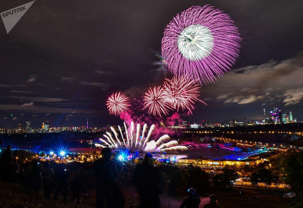 El Círculo de Luz de Moscú y el Oktoberfest: las fotos más impresionantes de la semana