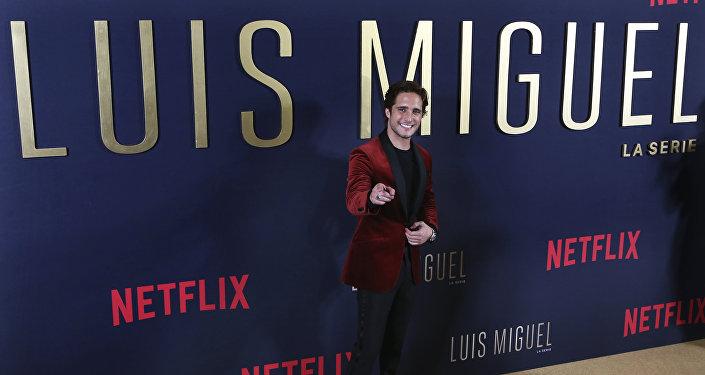 Diego Boneta, actor mexicano que interpreta a Luis Miguel en la serie de Netflix