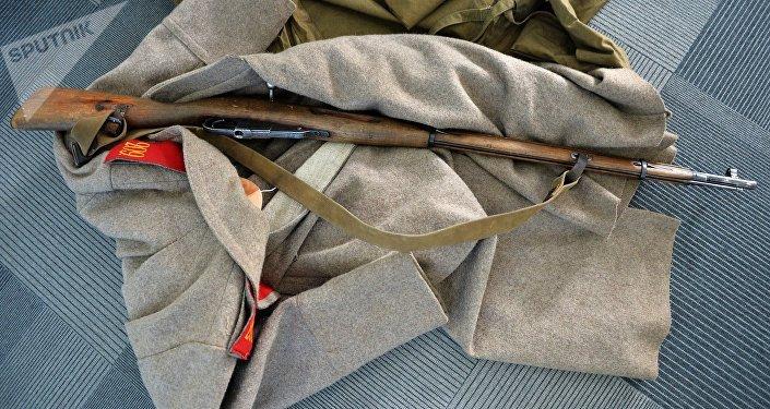 El fusil de cerrojo Mosin-Nagant fue incorporado al servicio de las Fuerzas Imperiales rusas en 1891