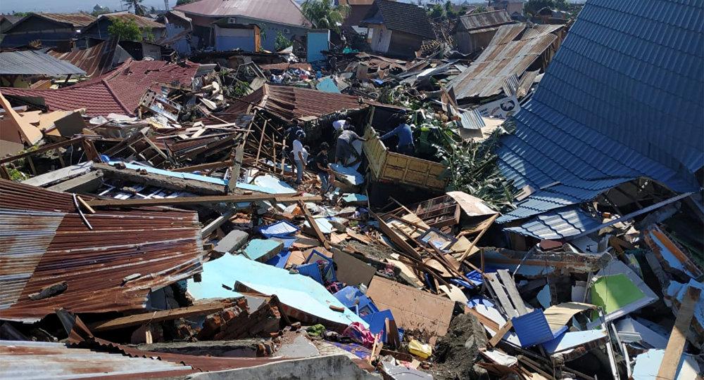 Las consecuencias del terremoto y del tsunami en Indonesia