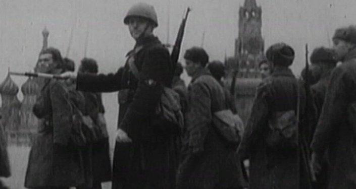 Imágenes de archivo únicas de la batalla por Moscú contra los nazis alemanes