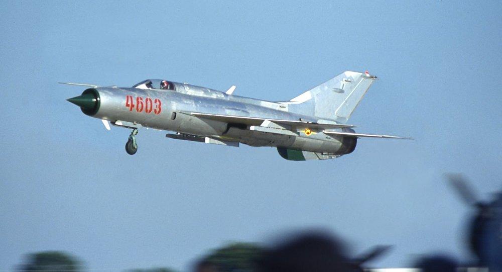 Caza MiG-21, archivo
