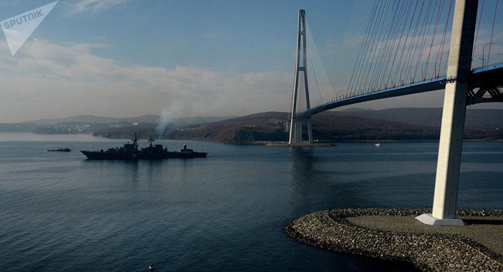 Crucero Variag de la Flota Rusa del Pacífico