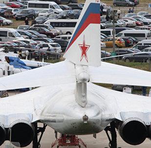 Motores del bombardero estrategico ruso Tu-160, archivo