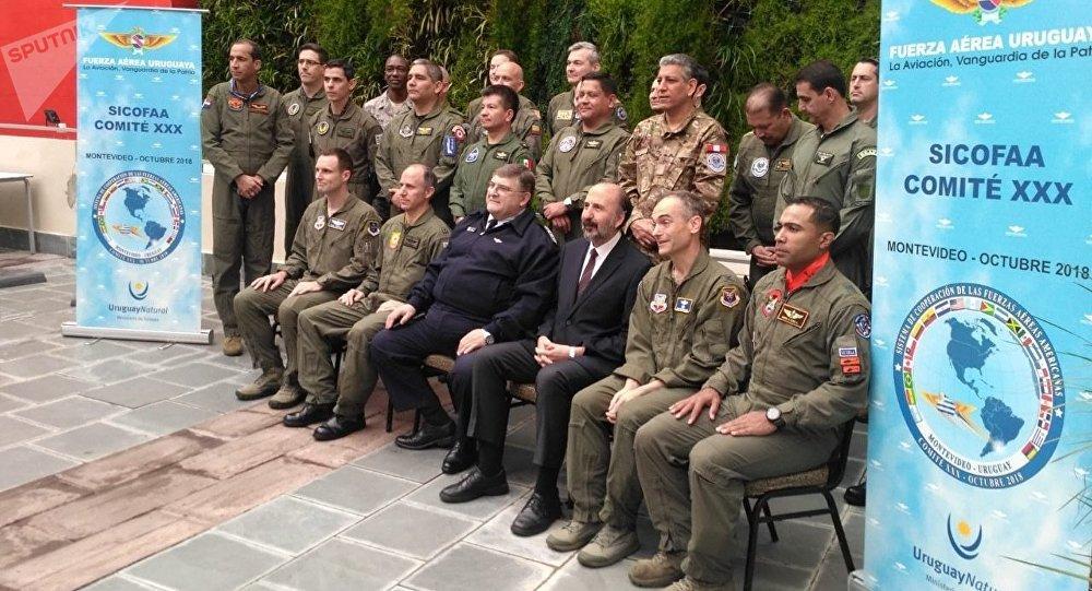La reunión del Sistema de Cooperación de Fuerzas Aéreas Americanas