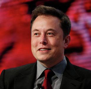 Elon Musk, director jefe de Tesla Motors y SpaceX