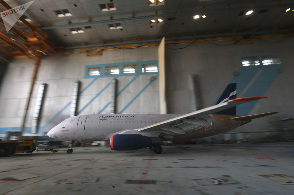 Así cobran vida los aviones Sukhoi SuperJet 100 de Aeroflot