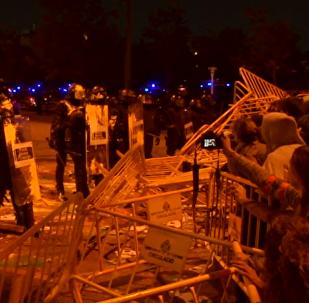 Los disturbios en Cataluña tras las manifestaciones del 1-O dejaron 43 heridos leves