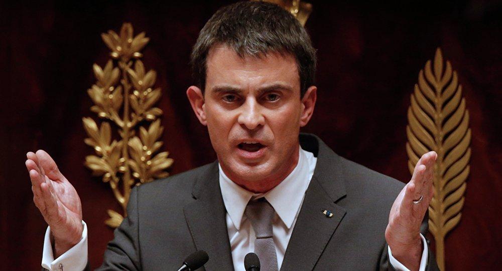 Manuel Valls, ex primer ministro francés