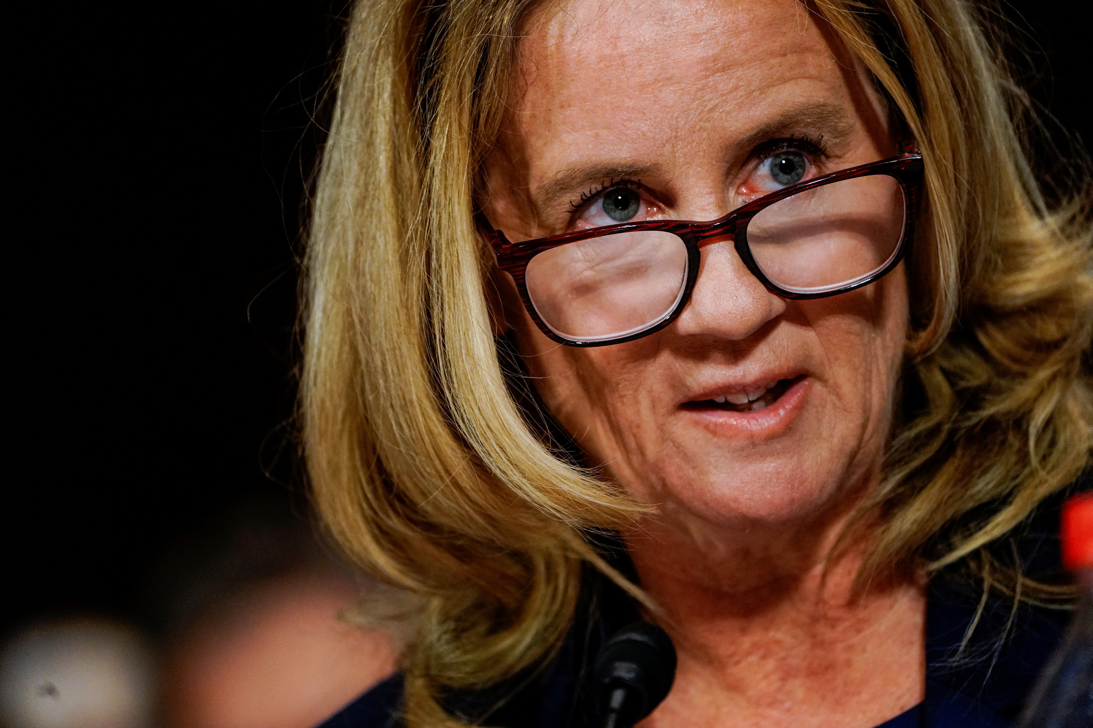 Christine Blasey Ford, profesora californiana