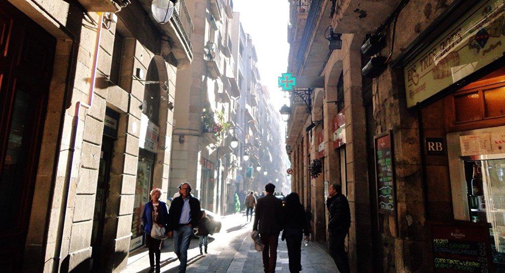 El barrio barcelonés del Raval (archivo)