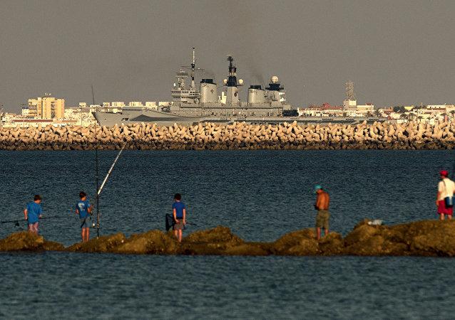 Base naval de Rota, España (archivo)