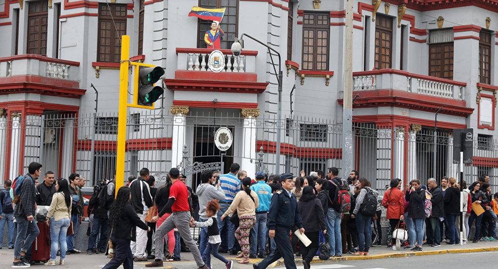 Los migrantes venezolanos en Perú (Archivo)