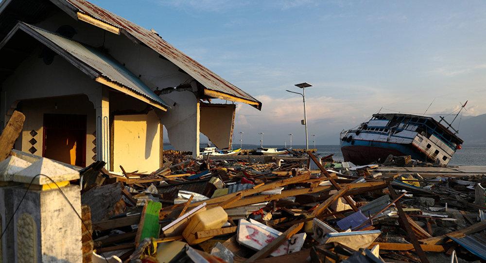 Consecuencias del tsunami en Indonesia