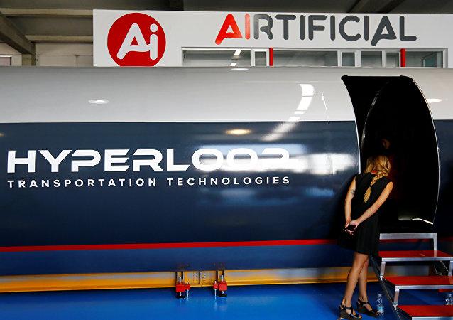 El estreno del tren supersónico Hyperloop
