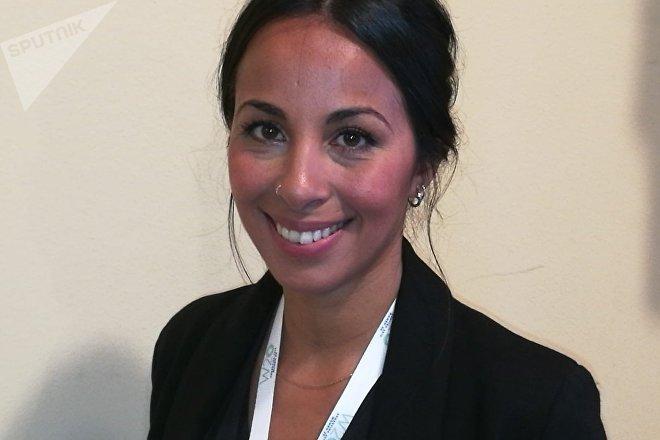 Evelina Cabrera, exfutbolista y entrenadora argentina, presidenta de la Asociación Femenina de Fútbol Argentina (AFFAR)