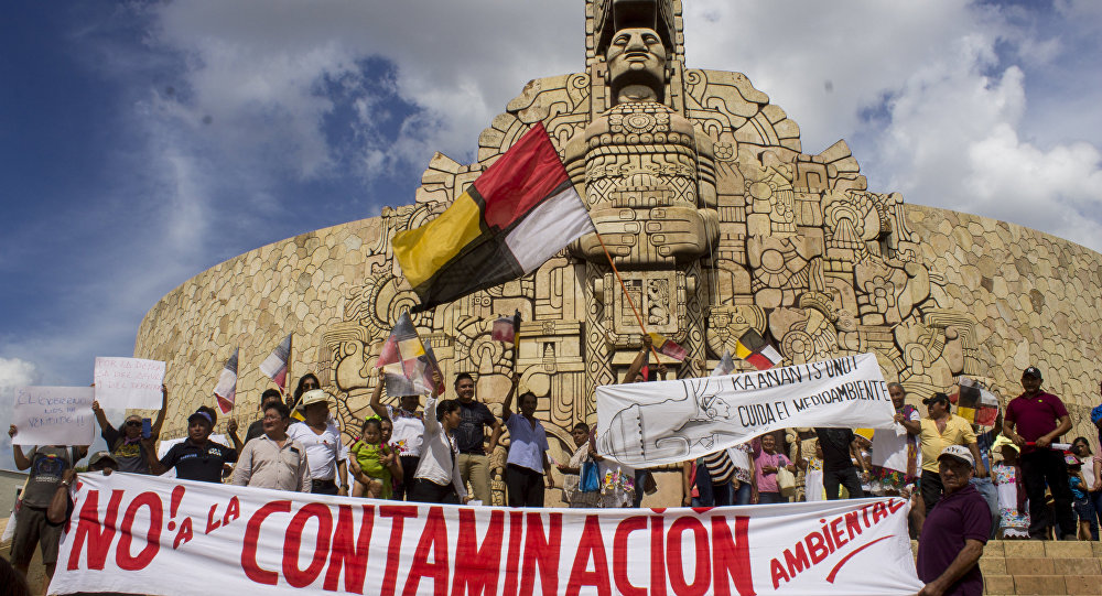 Manifestaciones en Mérida, Yucatán