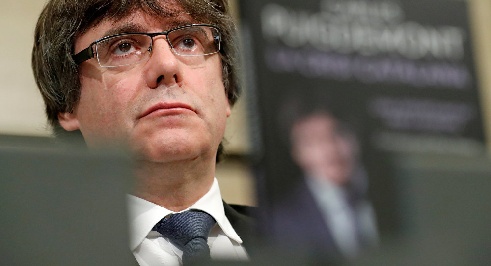 Carles Puigdemont, expresidente catalán