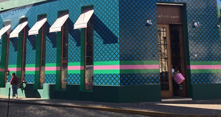 Tienda de ropa en Palermo, Buenos Aires, Argentina