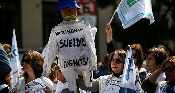 Maestros de provincia de Buenos Aires piden aumento salarial