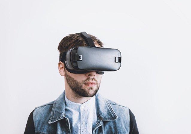 Gafa de realidad virtual (imagen referencial)