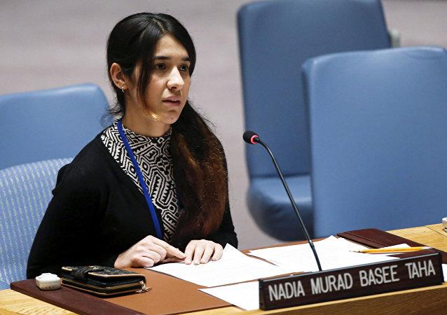 Nadia Murad, ganadora del Premio Nobel de la Paz