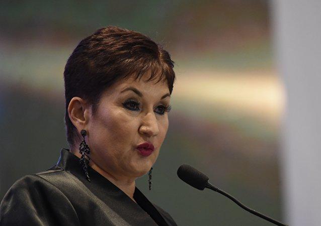 La ex fiscal general de Guatemala, Thelma Aldana (2014-2018)
