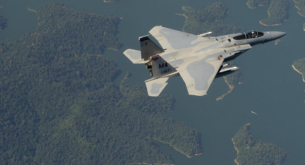 Un F-15 estadounidense