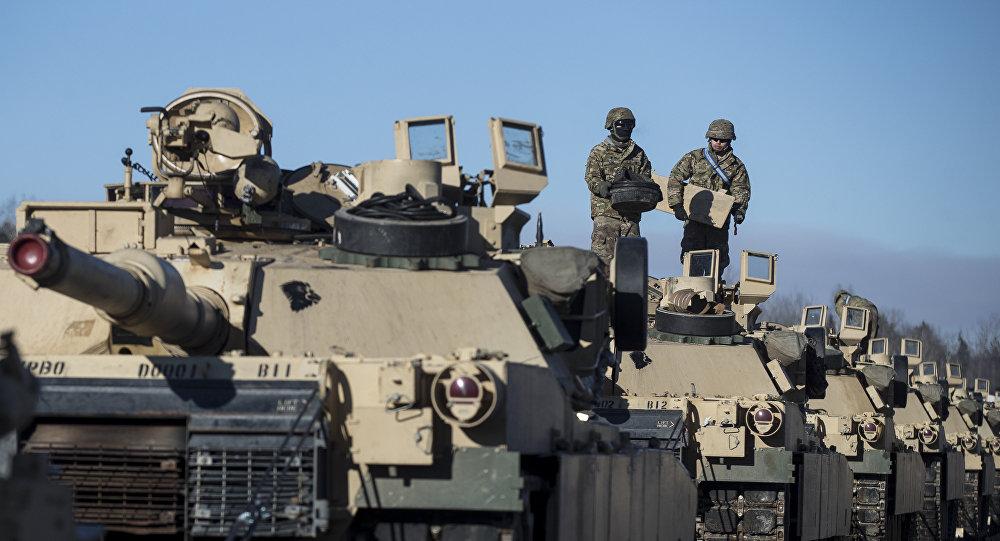 Los tanques Abrams