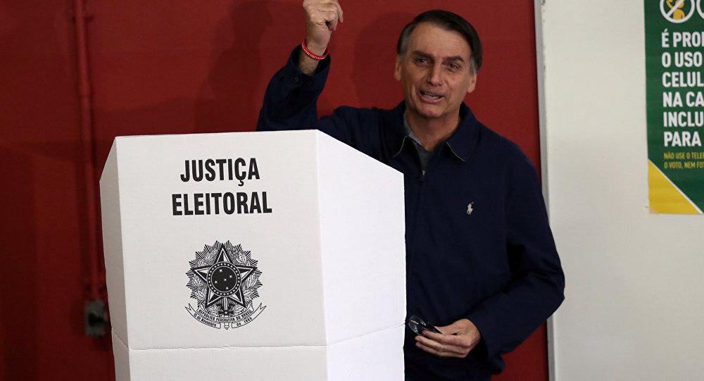 Jair Bolsonaro,  presidente electo de Brasil (archivo)