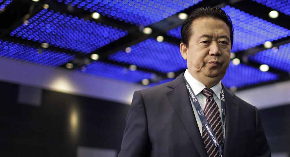Meng Hongwei, jefe de Interpol