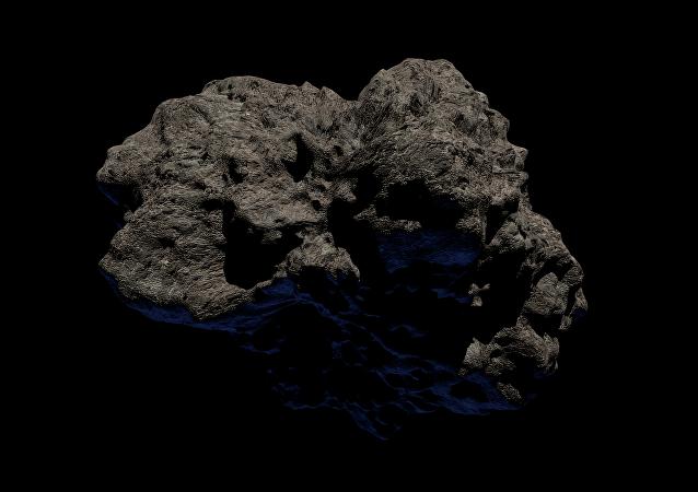 Un meteorito (imagen referencial)