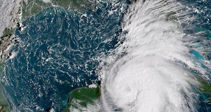 Tormenta Michael en el Golfo de México