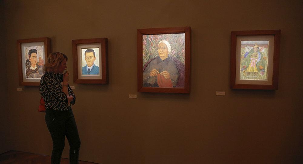 Exposición de Frida Kahlo (imagen referencial)