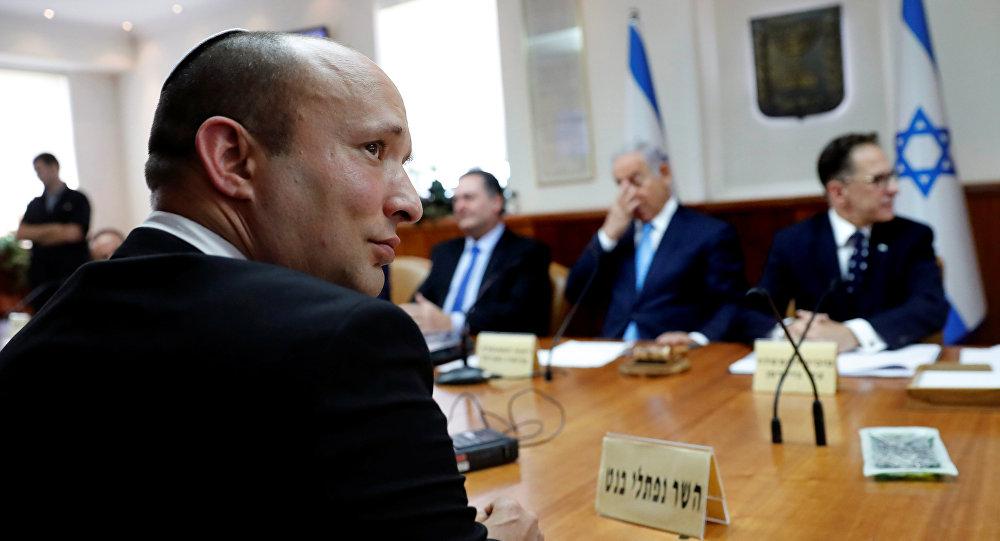Naftalí Bennett, el ministro israelí de Educación