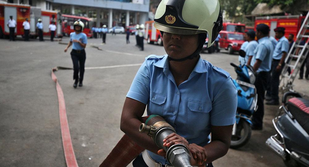 Los bomberos de la India