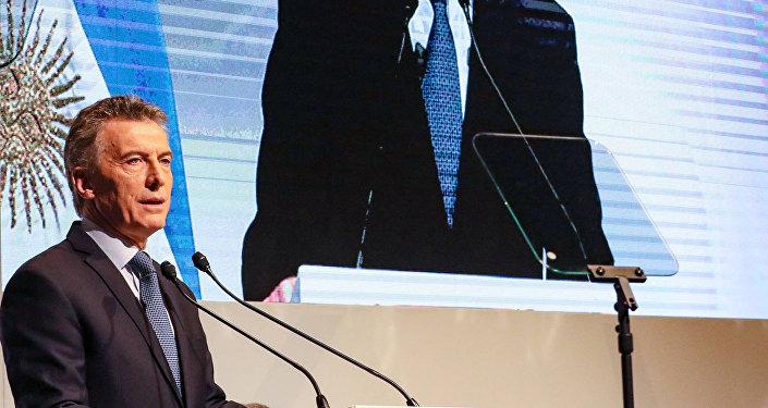 Mauricio Macri, el presidente argentino