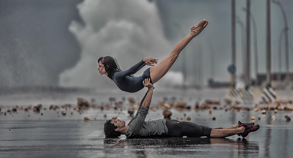 Grettel Morejón y Rafael Quenedit, bailarines del Ballet Nacional de Cuba