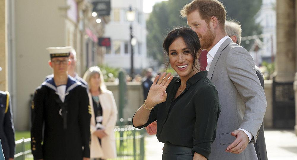 Meghan Markle y el príncipe Harry visitan Sussex