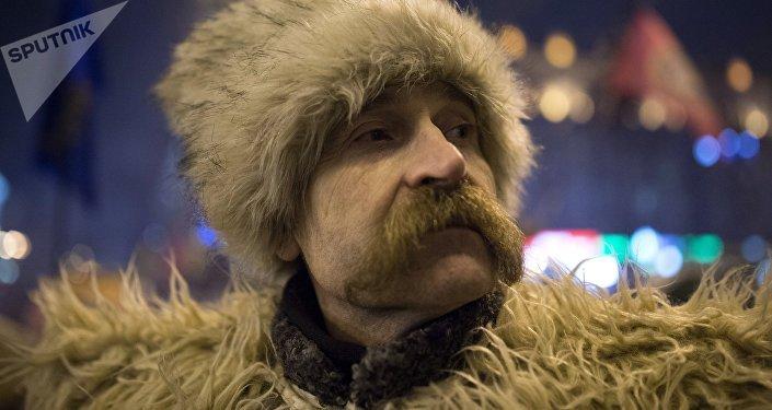 Un cosaco ucraniano (imagen referencial)