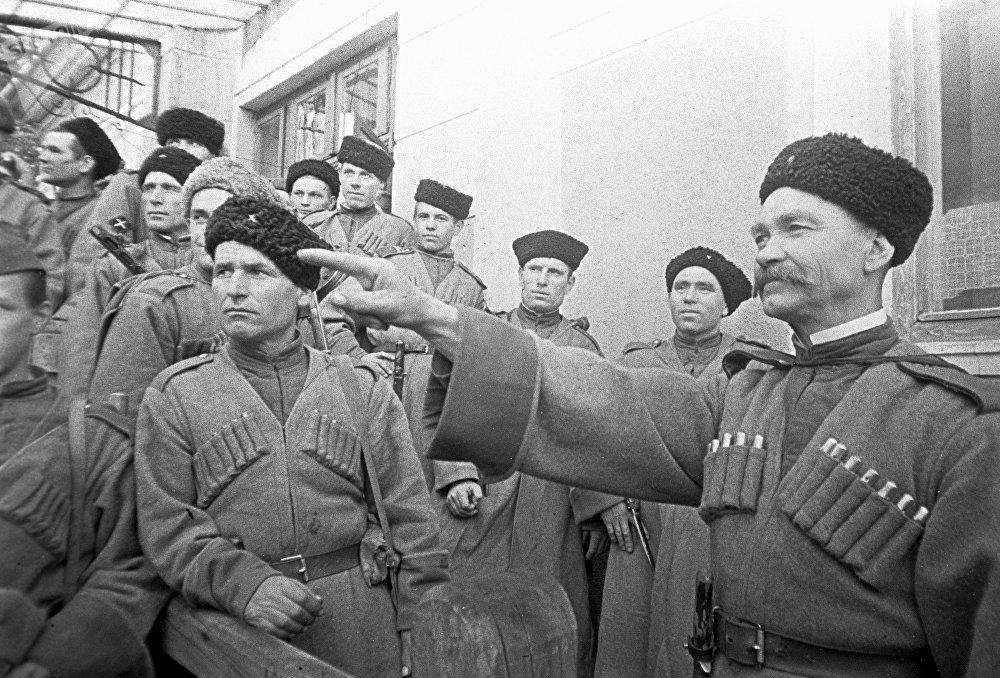 Cosacos ucranianos (archivo)