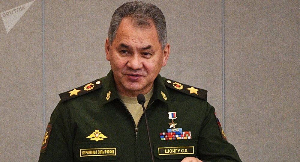 Serguéi Shoigú, ministro de Defensa ruso (archivo)